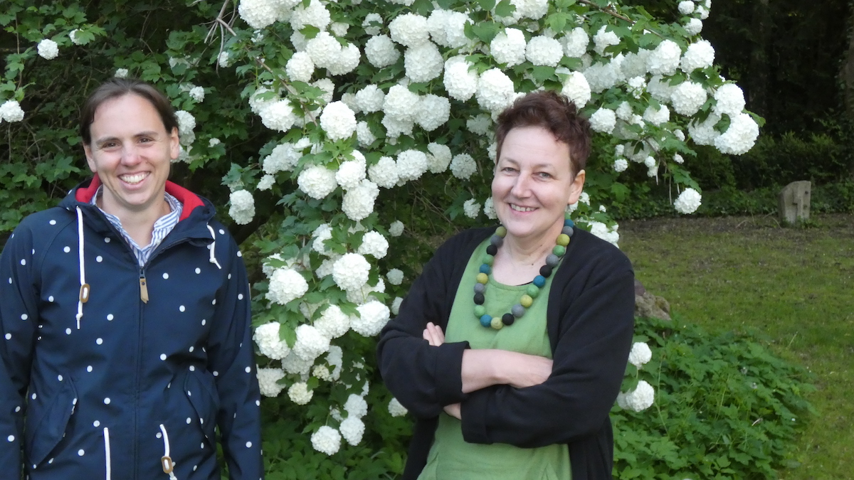 ACHTSAM Gemeinderätinnen Johanna Wieland und Ulrike Bach